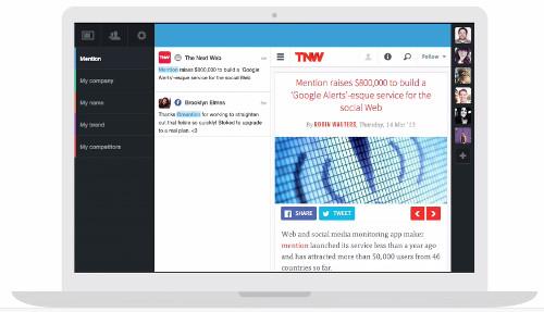 Mention Social Media Tool
