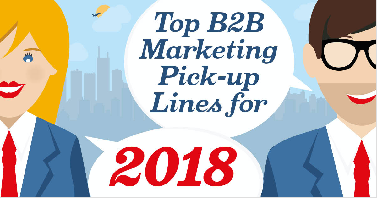 B2B Marketing Pick-up Lines