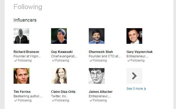 LinkedIn Marketing Influencers