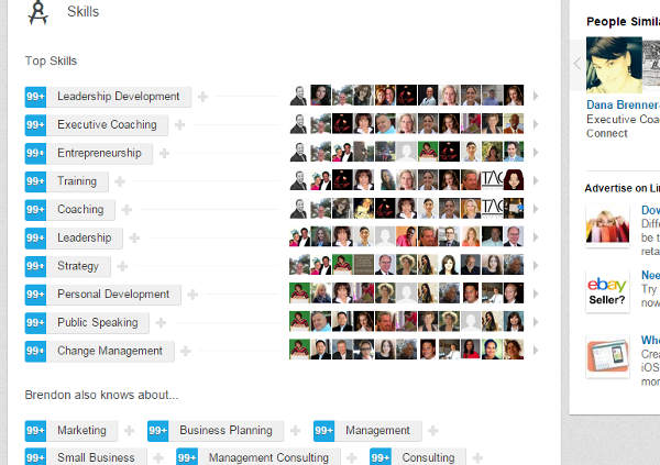 LinkedIn Marketing Skills
