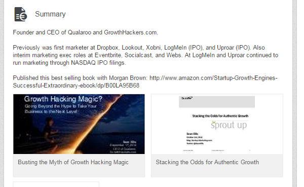 LinkedIn Marketing Summary