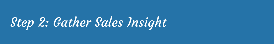 Sales Enablement - Insight