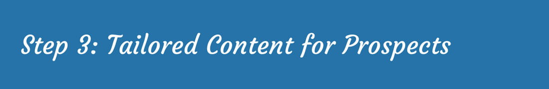 Sales Enablement – Tailored Content
