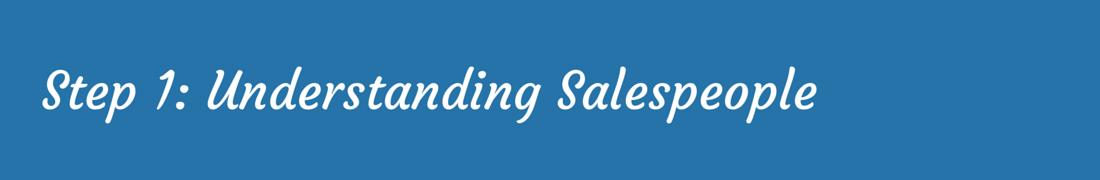Sales Enablement – Understanding Salespeople