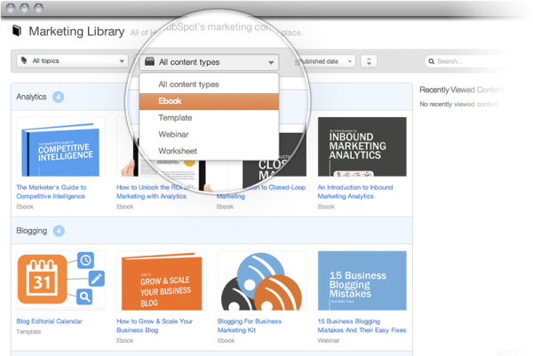 Sales Enablement - Content Library