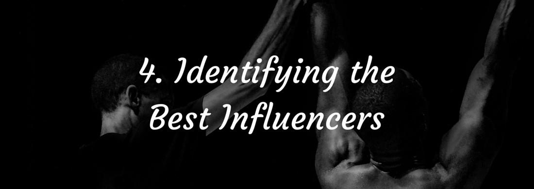 Influencer Marketing – Identifying Influencers