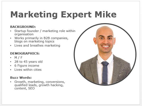 Influencer Marketing - Persona