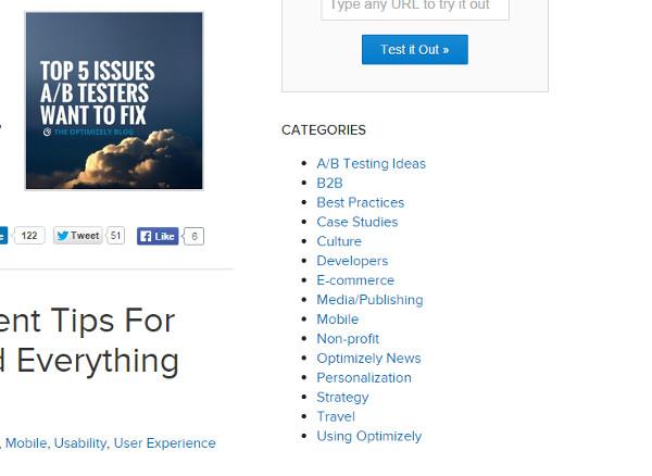 B2B Marketing Tactics - Guest Blogging Categories